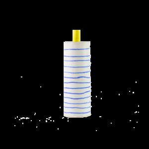 Eric Hibelot bidon bidon porcelaine