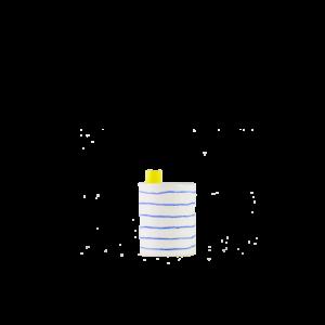 eric Hibelot bidon-bidon porcelaine
