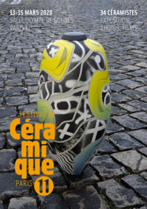 affiche festival céramique paris 11