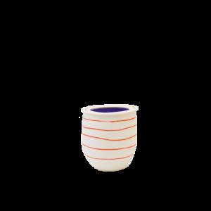 eric Hibelot vase porcelaine